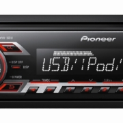 MP3 player with USB and Aux.