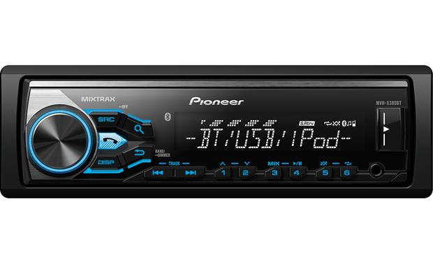 new pioneer stereo with bluetooth hands free phone calling. Black Bedroom Furniture Sets. Home Design Ideas