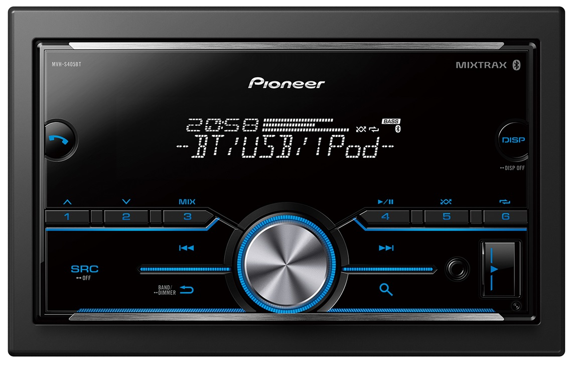 Pioneer Bluetooth stereo with Bluetooth.
