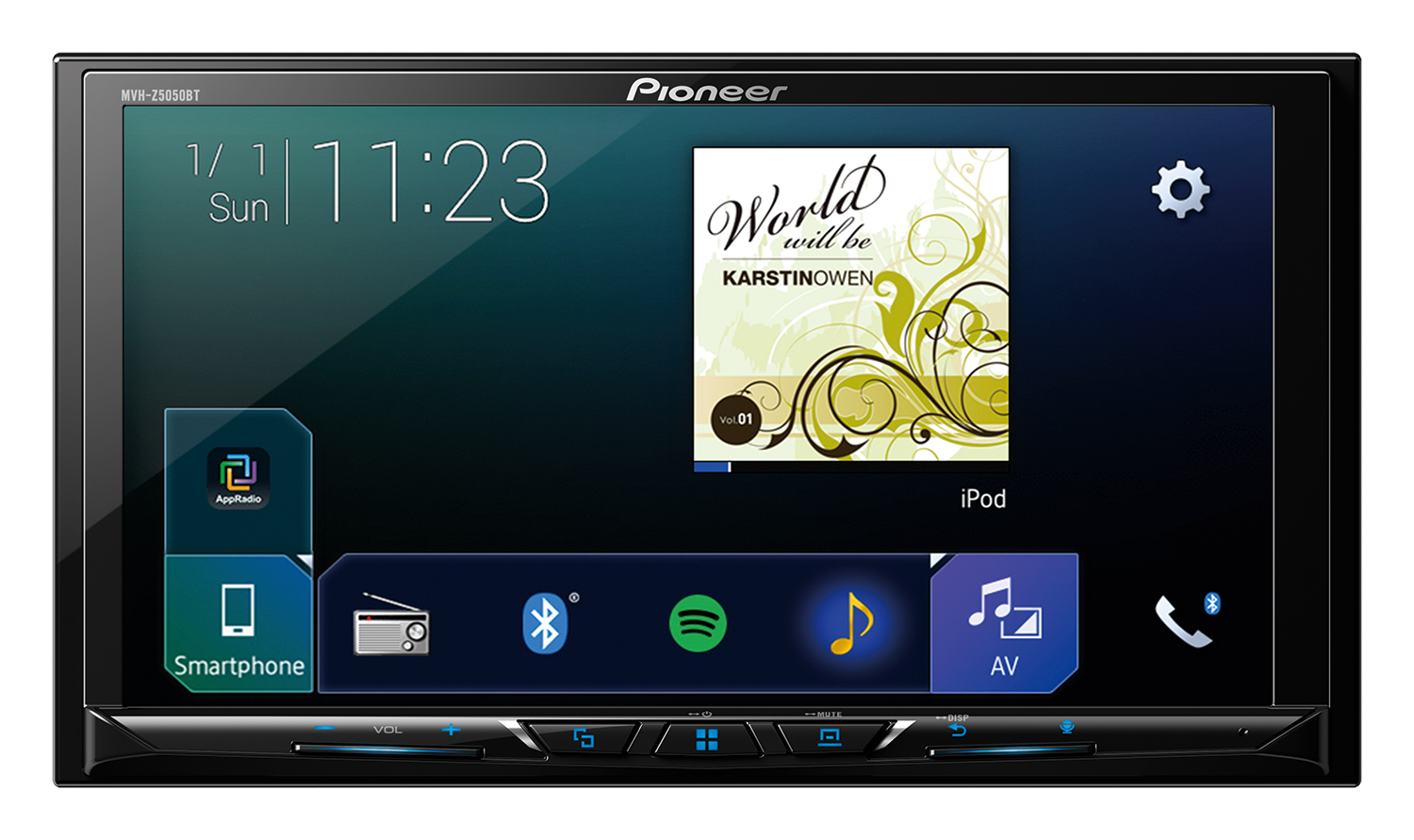 Pioneer Bluetooth Stereo with Android Auto & Apple Car Play